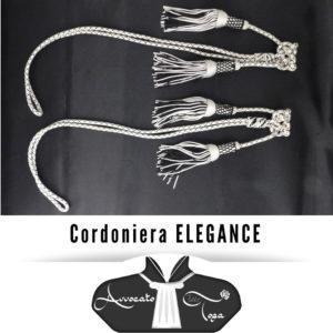 Coppia di Cordoniere Argento Nero elegance Avvocato semplice