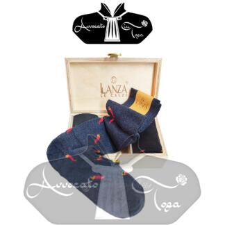 Calze-uomo-in-caldo-cotone-cornetti-portafortuna-confezione-regalo-in-legno